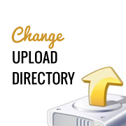 Change the Upload Directory
