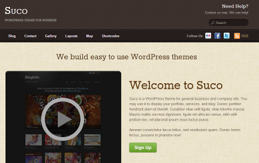 Suco - WordPress Theme