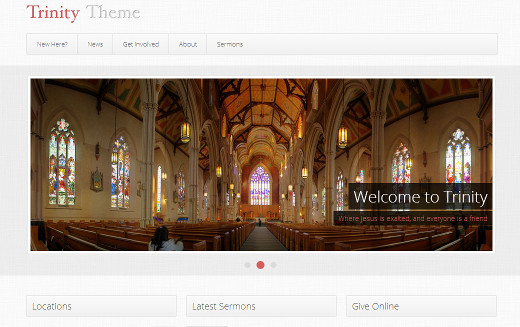 Trinity by ChurchThemes