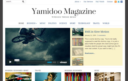 Yamidoo Theme by WPZoom