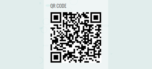 QRCode displayed inside a WordPress sidebar widget