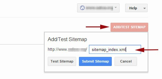 Adding your wordpress xml sitemap in Google webmaster tools