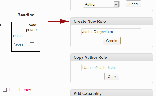 Creating a custom user role in WordPress