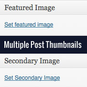 Multiple Post Thumbnails in WordPress