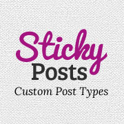 Sticky Posts Custom Post Types Archive