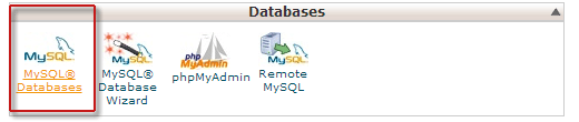 Creating MySQL database in cPanel
