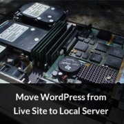 Move WordPress to Local Server
