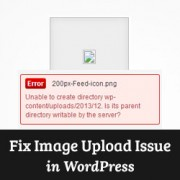 How to Fix Image Upload Issue in WordPress