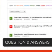 Question and Answers Site in WordPress