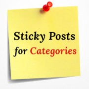 How to Add Sticky Posts for Categories in WordPress