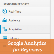 Beginner's Guide to Google Analytics Standard Reports