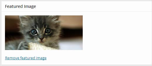 Automatically setting up the first image as the featured image in WordPress