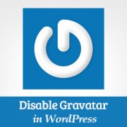 How to Disable Gravatar in WordPress