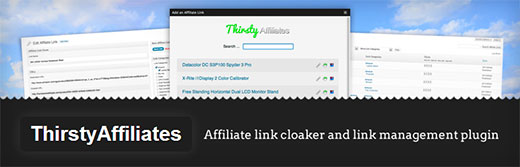 ThirstyAffiliate Link Cloaking and Affiliate Link Management Plugin for WordPress
