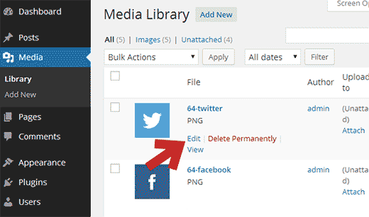 Edit social icon files