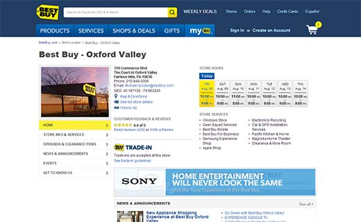 Best Buy 40+ Notable WordPress Websites - bestbuy