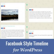 How to Add a Facebook Style Timeline in WordPress