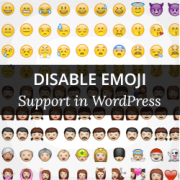 How to Disable Emojis in WordPress 4.2