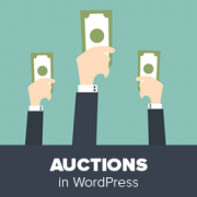 Auctions in WordPress