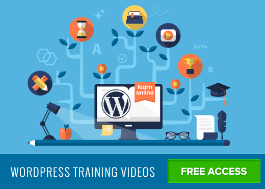Videos gratis de entrenamiento de WordPress
