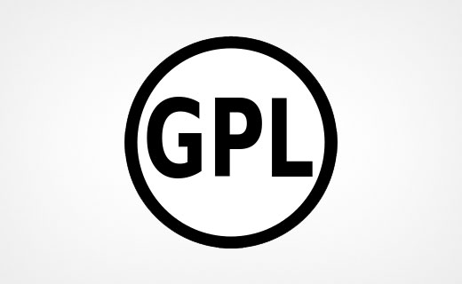 WordPress, Joomla, and Drupal are released under GNU GPL license.