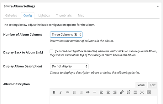 albumsettings