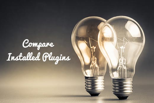Search and compare installed plugins in WordPress