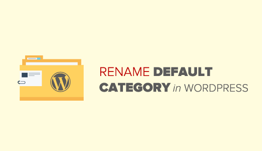 Image result for Rename The Uncategorized Category In WordPress
