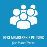 5 Best WordPress Membership Plugins (Compared) – 2016