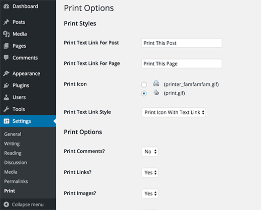 add print to pdf option