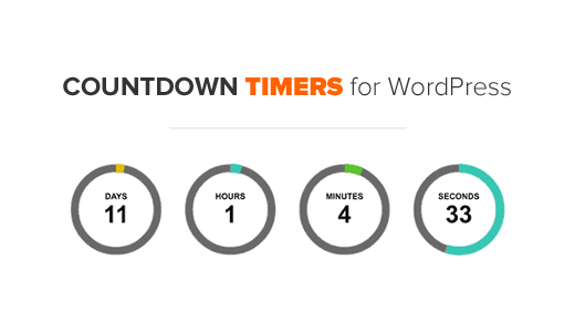 Countdown Timer for WordPress