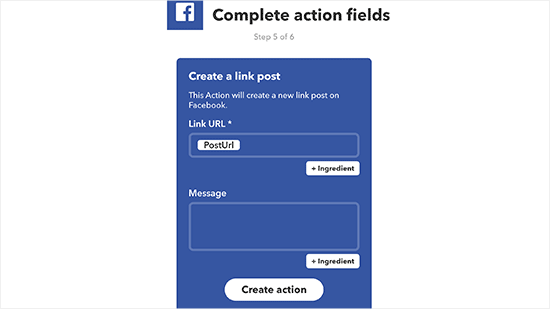 Facebook Fields