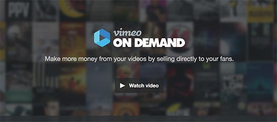 Vimeo on Demand