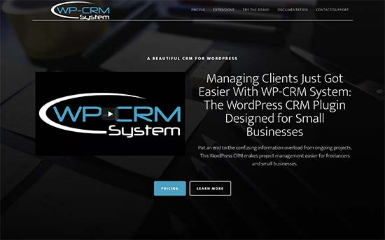 WP-CRM System