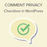 How to Add Comment Privacy Optin Checkbox in WordPress