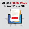 How to Upload HTML Page to WordPress Site