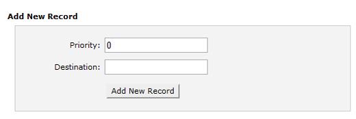 Add MX record in cpanel
