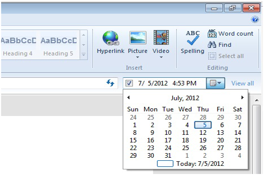 Scheduling WordPress posts in Windows Live Writer
