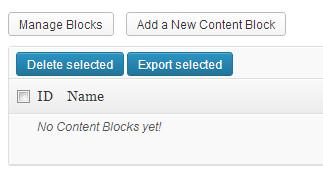 create content block