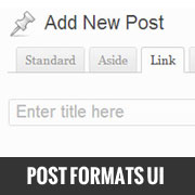 How to Add a User Interface for Post Formats in WordPress 3.5
