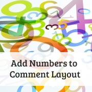 How to Add Numbers to Your WordPress Comments Layout