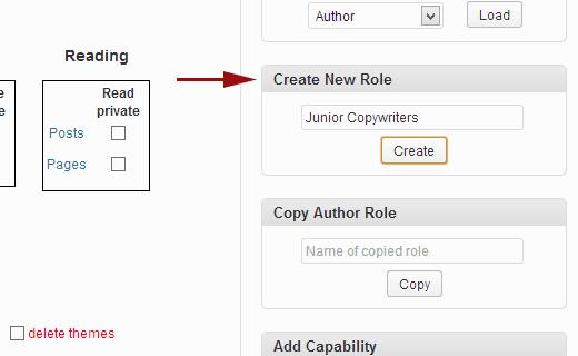 Creating a custom user role in WordPress