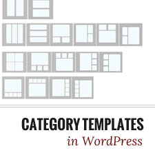 How To Create Category Templates In Wordpress