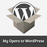 How to Properly Move from My Opera to WordPress