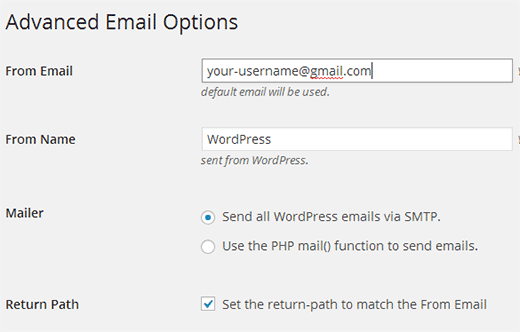 Setting up WordPress on Localhost to use Gmail SMTP server