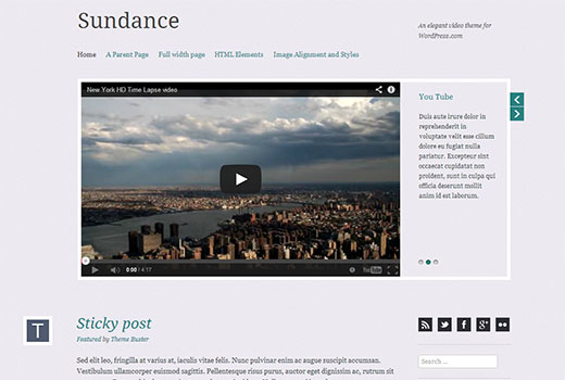 Best WordPress Video Themes for 2014