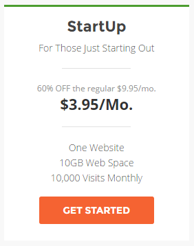 Get 60% off the SiteGround StartUp plan