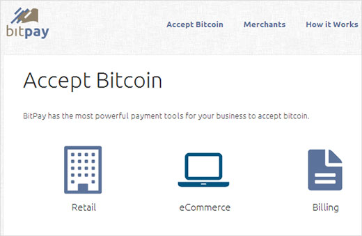 Accepteer Bitcoin - eCommerce