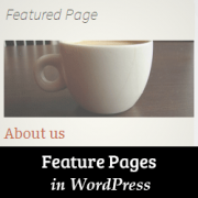 How to Feature a Page in WordPress