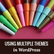 How to Use Multiple Themes for Pages in WordPress